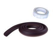 YIXUAN 1 PCS Corner Edge Guards Childproof Cushion Protection Baby Safety Guard Protector ,2 M , Brown