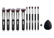 Blush Italy Kit Brushes Kabuki + Foundation Sponge