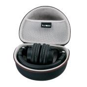 LTGEM Storage Carrying Travel Case Bag for Audio-Technica ATH-M50X M50 M70X M40X M30X M20X M50X MG Headphones Professional Studio Monitor Headphones