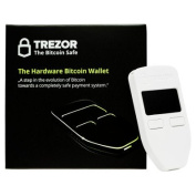 Trezor Hardware Bitcoin Wallet – White