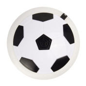 QTMY Indoor Outdoor LED Foam Bumpers Air Power Soccer Football Hover Disc