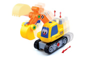 ADI TOYS Take apart Car Digger Toy With Power Drill and Screwdriver For Toddler