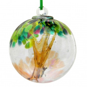 Spring 10cm Glass Friendship Ball