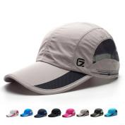 GADIEMENSS Quick Dry Sports Cap Lightweight Breathable