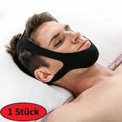 Agia Tex Anti Snore Chin Strap – Stops Snoring – Individually Adjustable