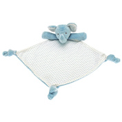 Walton Baby - Nursery Elephant Small Softee Security Blanket - Blue