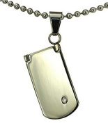 AnazoZ Jewellery design stainless steel Mobile pendant necklace with bible cross pendant