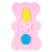 NIRVANA Comfy Baby Bath Sponge Cushion Anti Bacterial And Skid Proof Bath Mat