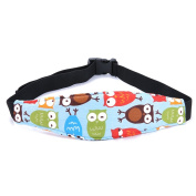 GAMT Baby Stroller Sleeping Belt Neck Relief Car Seat Safety Head Support Band with Adjustable Belt 3pcs/set Style 2