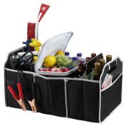 MareLight Insulated Car Seat Back Organisers Bottle Drinks Holder Cooler/Cool Wrap Bottle Bag/Multi-Pockets Travel Storage /Heat-Preservation for Car, SUV, Minivan, Trunk & Jeep