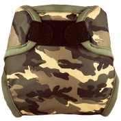 Tidy Tots Nappies Hassle Free Camouflage Hook & Loop Nappy Cover O/S