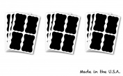64 Chalk Pen Chalkboard Vinyl Labels for Home, Garage, Kitchen, Parties & Office Labelling Needs