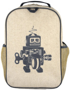 SoYoung Grade School Backpack, Grey Robot