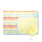 CuteOn Baby/Toddler Girls/Boys Blanket - 12 Waves