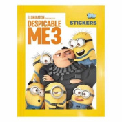 5x Topps Despicable Me 3 Collection Sticker Pack