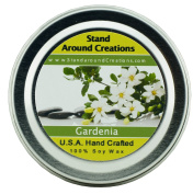 Premium 100% All Natural Soy Wax Aromatherapy Candle - 60ml Tin - Gardenia