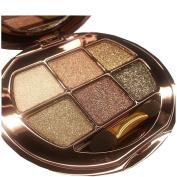 NandaBeauty Make Up Glitter Eyeshadow Palette 6 Colours Cosmetics Eye Shadow Pallete