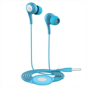 AutumnFall Universal 3.5mm In-Ear Stereo Earbuds Earphone with Mic for Cell Phone