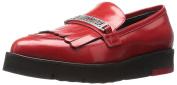 Love Moschino Women's Fringe Slip-On Loafer