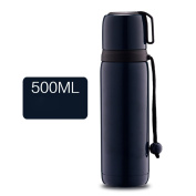 YIHANG @ 304 Stainless Steel Vacuum Insulation Cup Men And Women Outdoors Travel Portable Cup,Blue