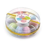 MyTinyWorld Dolls House Miniature Box of 10 Mixed Flavour Macaroons