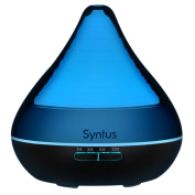 Syntus 300ml Essential Oil Diffuser Ultrasonic Aromatherapy Diffusers with 7 Colour LED Lights, Timer Setting and Waterless Auto Shut-off
