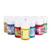12 Flavour 3ML/Box Pure Aromatherapy Essential Oil Skin Care Bath Massage Beauty