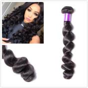 Shengqi Hair 10A Mink Brazilian Loose Wave Bundles Full Head Set Virgin Remy Human Hair Weave Weft Natural Colour 30cm Single Bundle