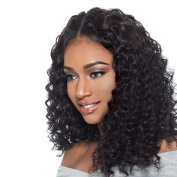 Addcolo Curly U Part Wig For Black Women 8A Brazilian Virgin Hair Upart Wig Loose Curly U Part Human Hair Wigs 1.5x 4 Middle Part Natural Colour