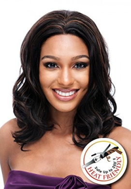 LACE FRONT WIG, NATURAL WAVY STRAIGHT (GIGI) NEW PRODUCT (F1B/350)