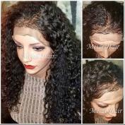 Meizi Hair Glueless Full Lace Human Hair Wigs for Black Woman Brazilian Virgin Hair Wigs 130%-180% Density Lace Front Human Hair Wigs with Baby Hair