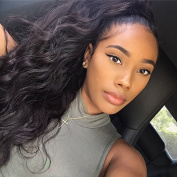Qtfn 150 density Full Lace Human Hair Wigs Body Wave Pre Plucked Natural Hairline High Density Brazilian Virgin Remy Wigs Natural Colour For Black Women 60cm