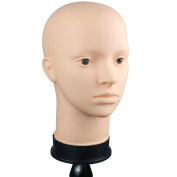 Luxwig Soft Viny Mannequin Head for Make Up and Wig Making