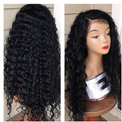 Foxys's Hair Loose Curly Lace Front Wig 100%Brazilian Human Hair Lace Front Wigs With Baby Hair