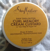 Shea Moisture Raw Shea Butter Curl Memory Cream Custard, 350ml