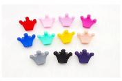 Sc0nni 30pcs bangs mini hair claw clip hair pin Crown for little girls Assorted colours