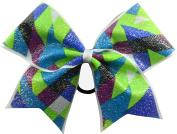 Sparkle Bows Cheer Multi Diamond Cheer Bow
