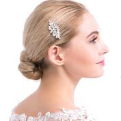 VANKOKO Rhinestones Headpiece Bridal Hair Comb Wedding Hair Accessories