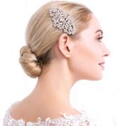 VANKOKO Vintage Crystal Wedding Hair Comb Bridal Hairpiece Hair Accessory