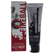 Pulp Riot Semi-Permanent Hair Colour for Unisex, Fireball Red, 120ml