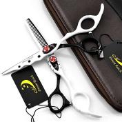 15cm Professional Hairdressing Cutting Shear - Salon Hair Thinning Scissor for Barber - by Dream Reach