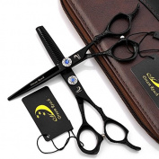 15cm Professional Salon Hair Cutting Shear - Hair Thinning Scissor for Barber - by Dream Reach