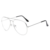 Mchoice Men Women Clear Lens Glasses Metal Spectacle Frame Myopia Eyeglasses Lunette Femme Glasses