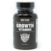 Uncut Beard Co. | Beard Growth Vitamins | #1 Selling Beard & Hair Growth Supplement in America | Get a Fuller and Thicker Beard