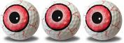 Eyeball Print Novelty Golf Balls Full Wrap Design 3 pack