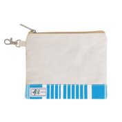 Ame & Lulu Brigsby Zippered Golf Tee Pouch with Bag Hook
