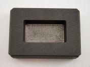 60ml Silver Bar High Density Graphite Ingot Mould Loaf Style Rectangle Ag