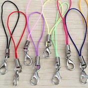 20 Pieces/Lot Cords Mixed Colour Lanyard Jewellery Pendant Cell Phone Cord Fashion New School Office Decorations