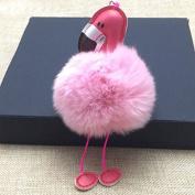 NEW Cute Rainbow Horse Unicorn Keychain Pendant Handbag Accessory Purse Ornament pink 2