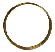 7.6m Round Dead Soft Red Brass Wire 24 Gauge Jewellery Making Wire